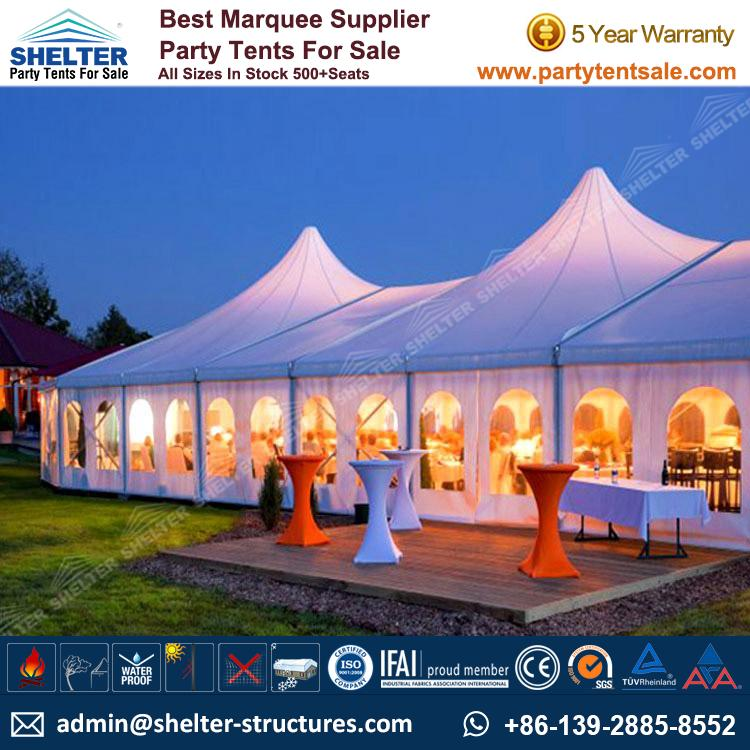Mixed-Party-Tent-Event-Tent-Wedding-Marquee-Party- ...  sc 1 st  Shelter Party Tent & Outdoor Party Tent On Sale Now - Party Tents Products