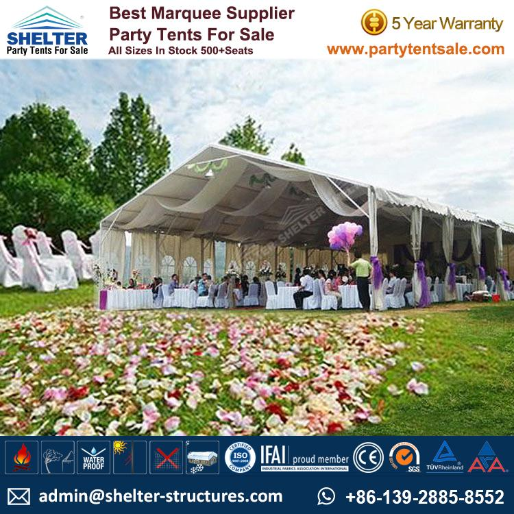 Outdoor Portable Tent 100-300People Reception Tent  sc 1 st  Shelter Party Tent & Outdoor Portable Tent 100-300 People Reception Tent