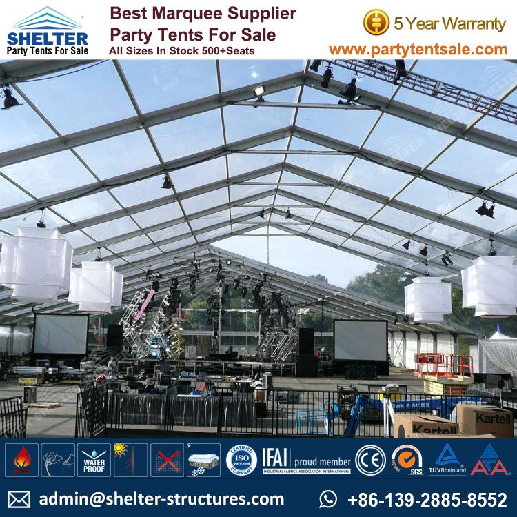 Clear Marquee 10x20 20x40 For Sale Party Tents Products