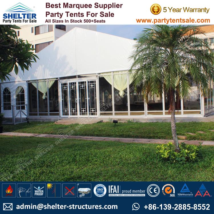 Large Glass Tent Host 300+ people & Large Glass Tent Host 300+ people - Event Tents Party Tents ...