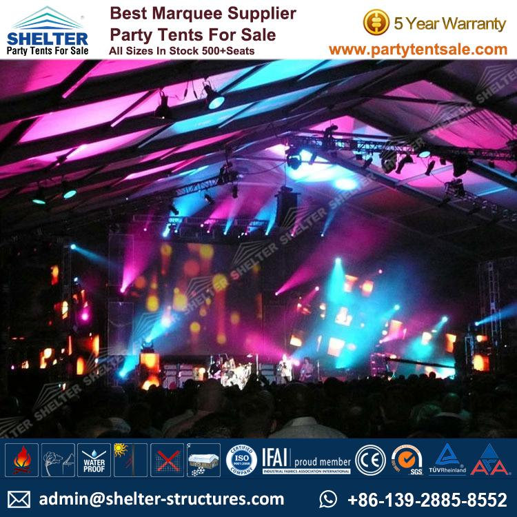 Party Marquee For Outdoor Live Show  sc 1 st  Shelter Party Tent & Party Marquee For Outdoor Live Show - Party Tents Products