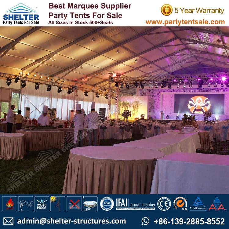 Large White Event Tent Wedding Maruqee Party Tents Sale