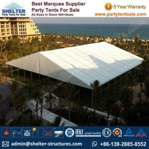 Shelter Tent-Wedding Tents-Event Tents For Sale-Wedding Marquees-Party Tents-Clear span structures-Storage Tent 10-60m 179