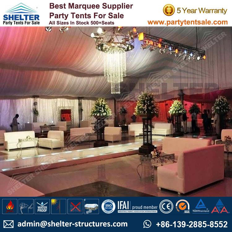 Outdoor Party Tent With Luxury Decoration Party Tents Products