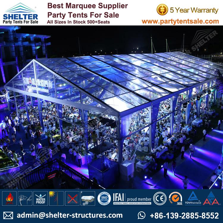 Clear Tent Transparent Marquee For Party And Wedding