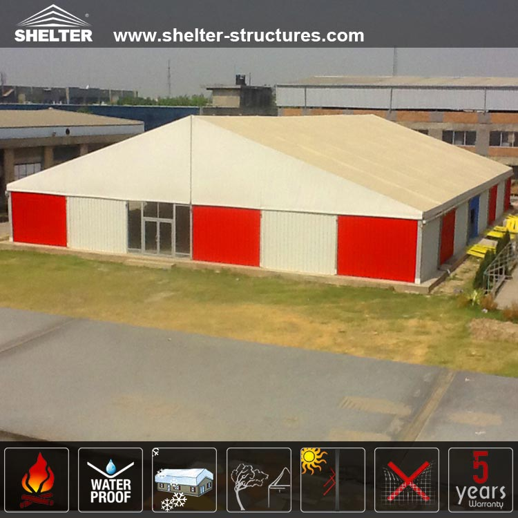 Large Tent-Warehouse Tents-Outdoor Storage Venue-Shelter Tent-16