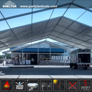Large Tent-Warehouse Tents-Outdoor Storage Venue-Shelter Tent-18