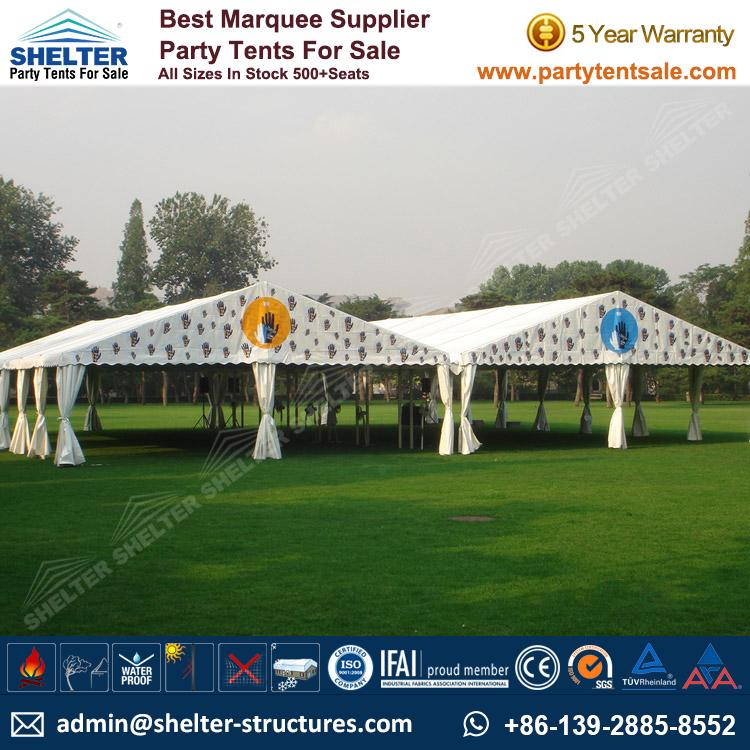 Small Tent For Wedding Reception 100-300ppl  sc 1 st  Shelter Party Tent & Small Tent For Wedding Reception 100-300ppl - Wedding Tents