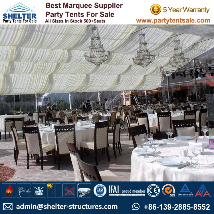 Wedding Tents For Sale: Large Event Tents-Wedding Marquee-Party Tent For Sale