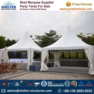 High Peak Marquee-Outdoor Gazebo Canopy Tents-Shelter5