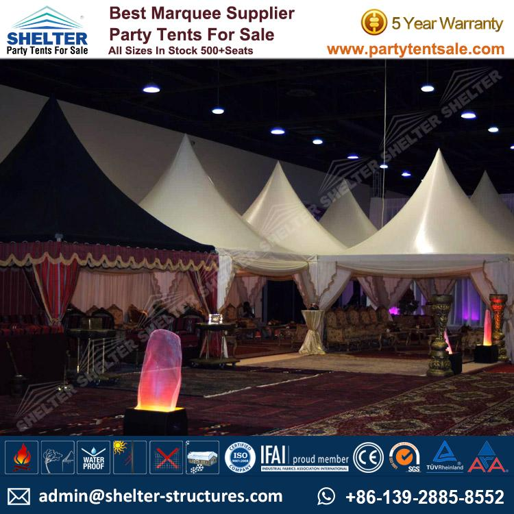 High Peak Marquee-Outdoor Gazebo Canopy Tents-Shelter Tent-19