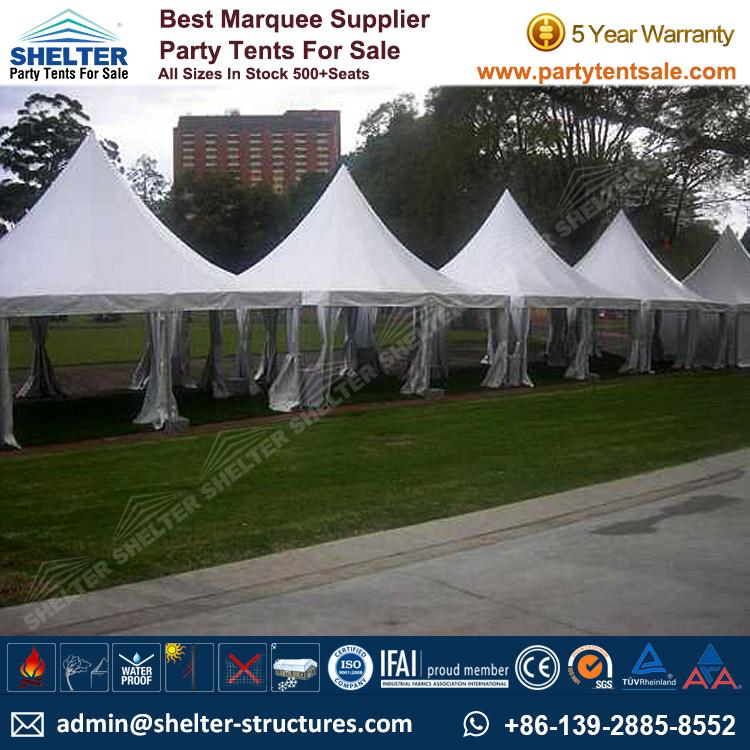 High Peak Marquee-Outdoor Gazebo Canopy Tents-Shelter4