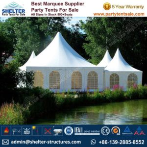 High Peak Marquee-Outdoor Gazebo Canopy Tents-Shelter Tent-109