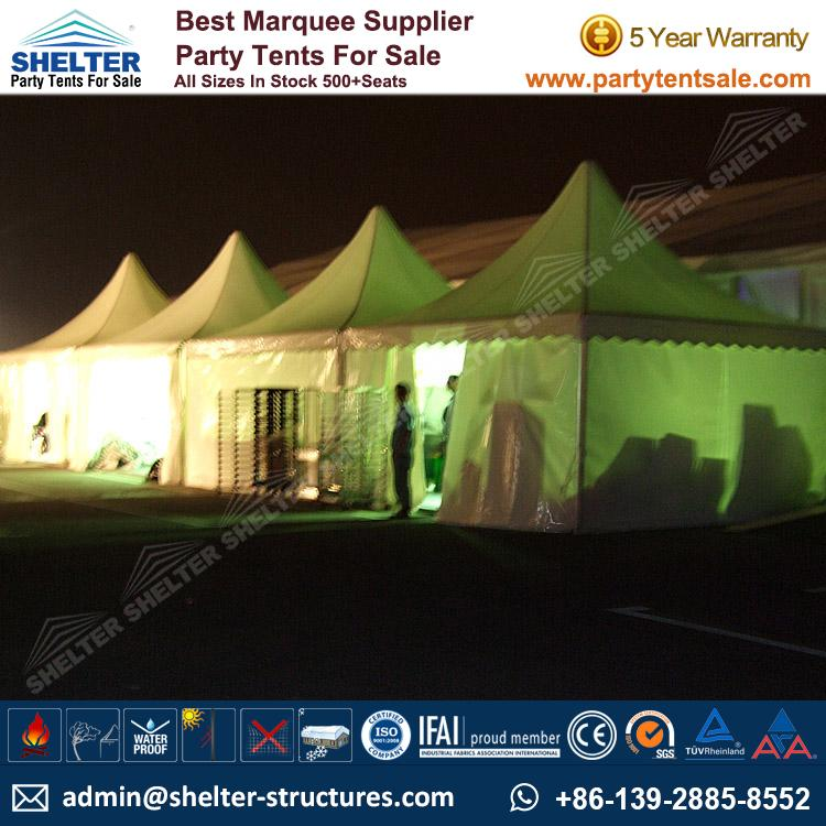 High Peak Marquee-Outdoor Gazebo Canopy Tents-Shelter Tent-122