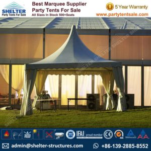 High Peak Marquee-Outdoor Gazebo Canopy Tents-Shelter Tent-124