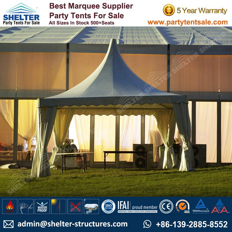High Peak Marquee Outdoor Gazebo Canopy Tents Shelter Tent 124