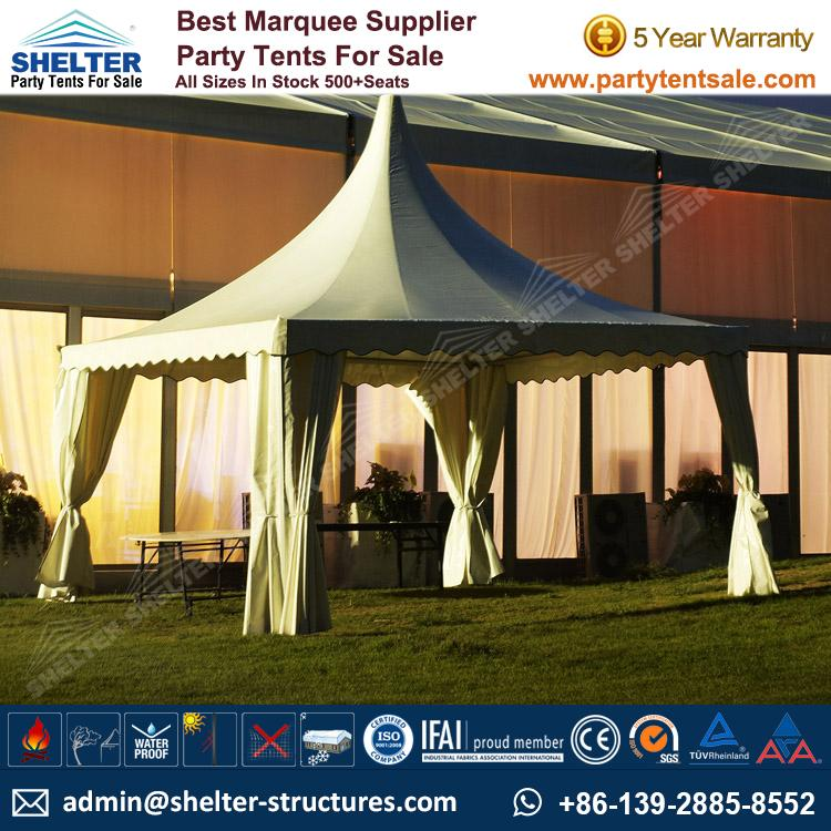 High Peak Marquee-Outdoor Gazebo Canopy Tents-Shelter Tent-123