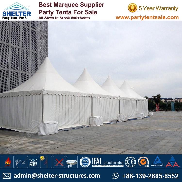 High Peak Marquee-Outdoor Gazebo Canopy Tents-Shelter3