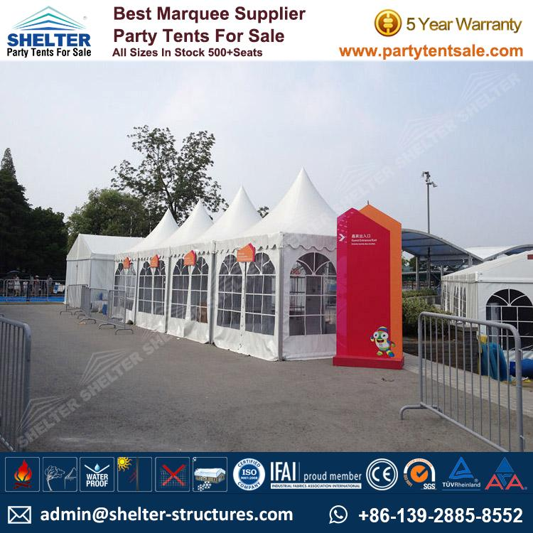 High Peak Marquee-Outdoor Gazebo Canopy Tents-Shelter2