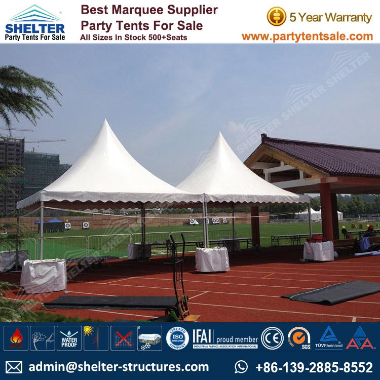 High Peak Marquee-Outdoor Gazebo Canopy Tents-Shelter1