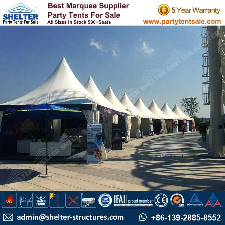 High Peak Marquee-Outdoor Gazebo Canopy Tents-Shelter Tent-154