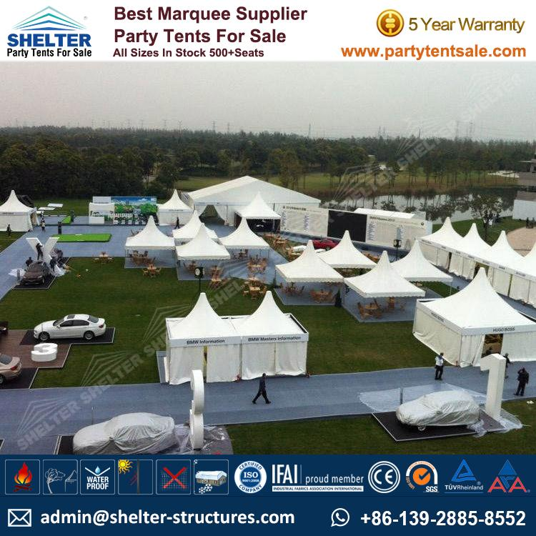 High Peak Marquee-Outdoor Gazebo Canopy Tents-Shelter Tent-172