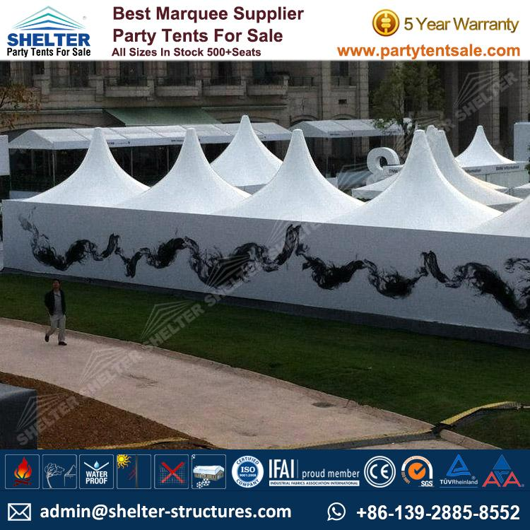High Peak Marquee-Outdoor Gazebo Canopy Tents-Shelter Tent-173