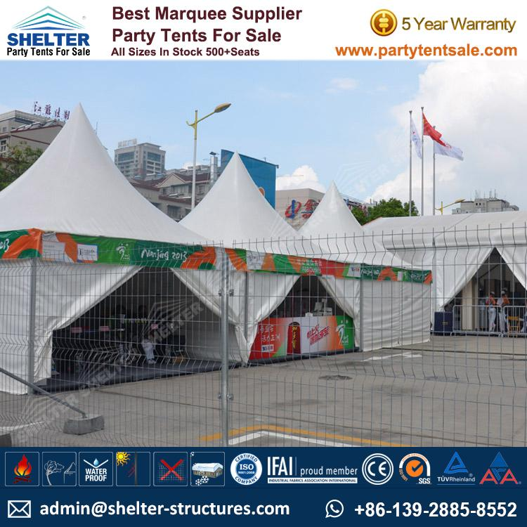 High Peak Marquee-Outdoor Gazebo Canopy Tents-Shelter Tent-176
