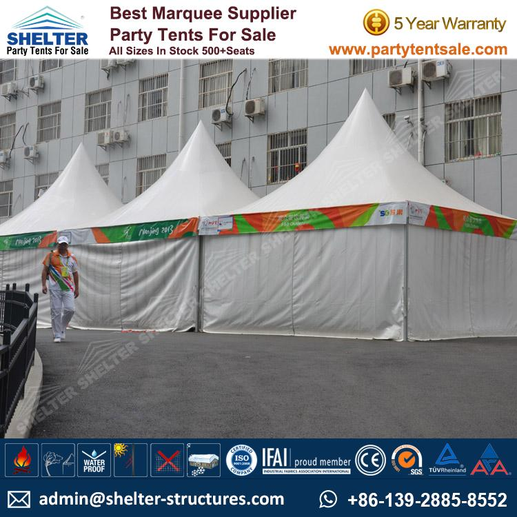 High Peak Marquee-Outdoor Gazebo Canopy Tents-Shelter Tent-177