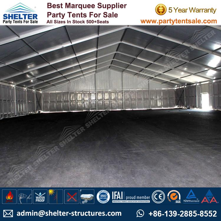 Large-Tent-Warehouse-Tents-Outdoor-Storage-Venue-Shelter- & Temporary Storage Building - Warehouse - Party Tents Sale