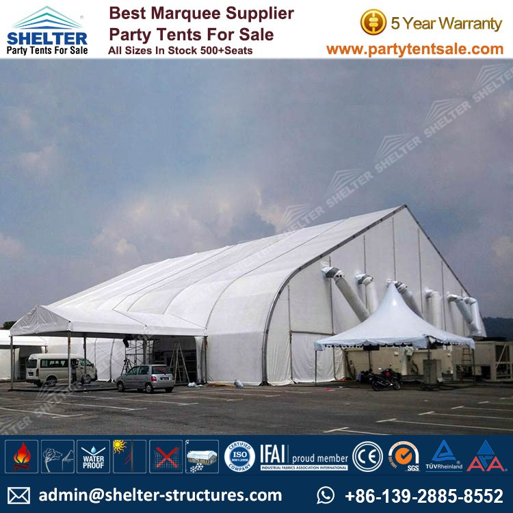25×35m Curved Roof Tent u2013 Event Marquees & Event Marquees - TFS Structures - Party Tents for Sale
