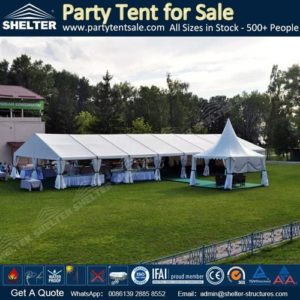 SHELTER 10X24 Meter Party Tent - Cocktail Parties - Wedding Marquee - Backyard Gazebo -3