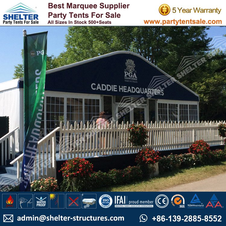 golf tents - large event tent - cooperate event marquees - shelter tent - 1