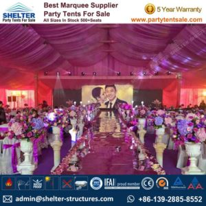 wedding reception tent - tent for wedding - wedding marquees - shelter tent - 3
