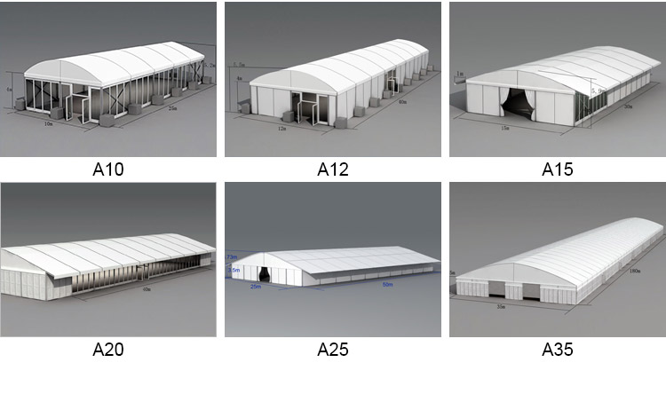 arch roof tent - event marquee - tent for event - shelter tent - 1