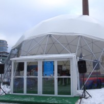 geodesic domes - dome tents for sale - hemisphere tent -2