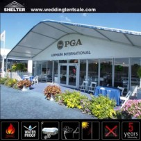 golf tents - large event tent - cooperate event marquee - 1
