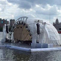 open dome tent - geodesic dome - Shelter geodesic dome tent for sale - shelter tent - 2