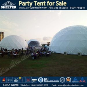 SHELTER Geodesic Dome Tent - Event Domes - geodesic dome tent for sale Geodome for Party - Gedesic Structures for Sale -8