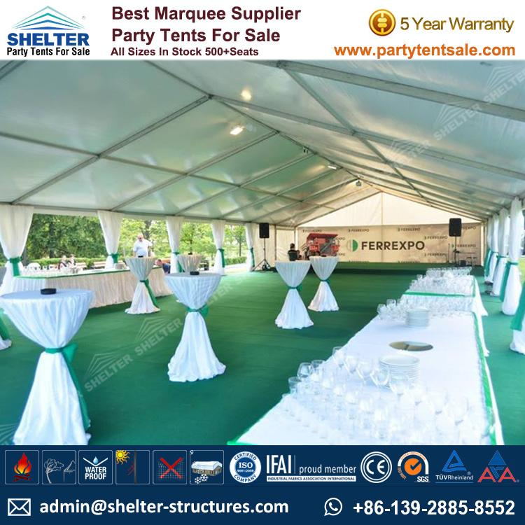 SHELTER 10X24 Meter Party Tent