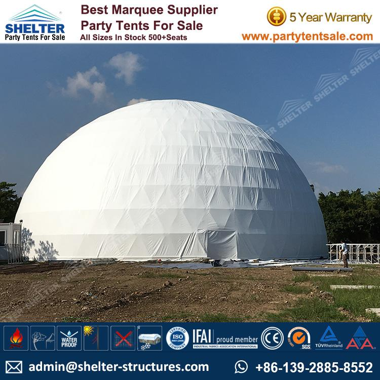 shelter-tent-geodome-marquee-geodesic-dome-tent-fabric- ... : dome tents uk - memphite.com