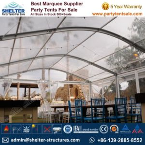 Tent for 100 People - Party Tent For sale-100-500 Seater - Party Gazebo Tents Clear Marquee - Tranparent Marquee - Arch Tent -Shelter Tent (1)