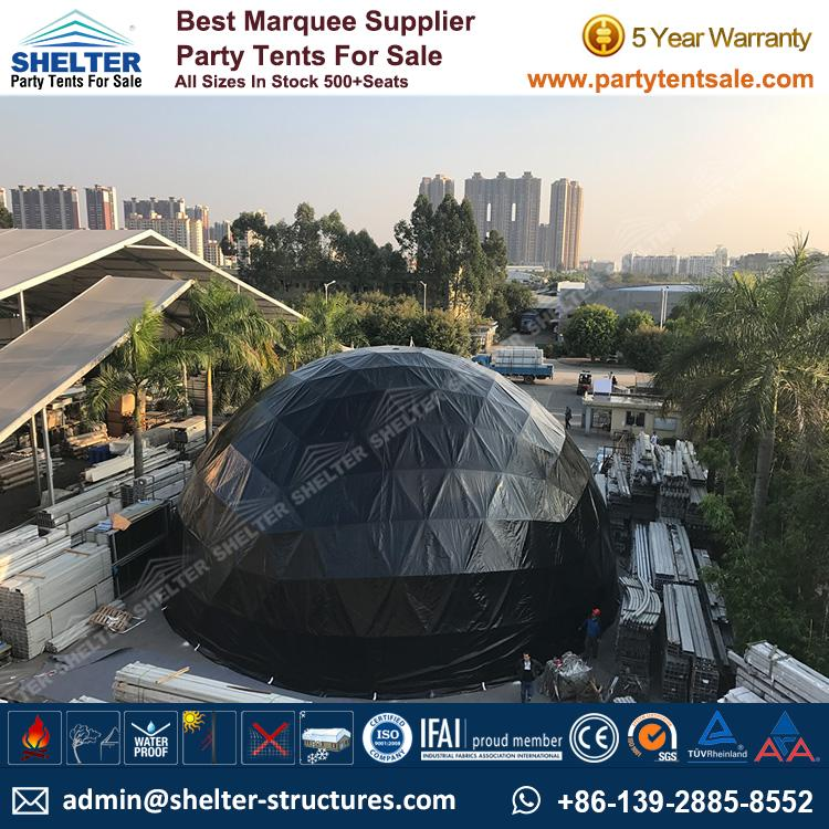 60u2032 Dome with Black PVC Fabric u2013 Geodesic Dome Tent for Sale in South Australia & 18m Geodesic Dome Tent for Sale - Party Dome Tent - Party Tent Sale