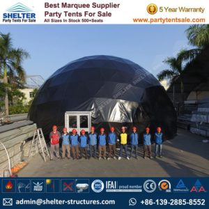 ShelterTent - Geodesic Dome Tent for Sale - Geodesic Dome - Dome - Dome Tent for Sale - Fabric Dome - Frame Dome Tent - Event Dome - Party Tent Sale(2)
