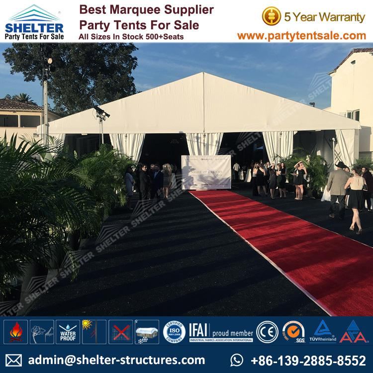 Banquet Tent - Shelter Party Tent Sale - Party Tent - Party Marquee - Wedding Marquee ... & Banquet Marquee for 400 People - Gala Tent for Banquet - Party ...