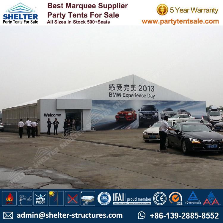 Auto Show Tent - Shelter Party Tent Sale - Event Marquee - Event Tent - Commercial & Best Quality Auto Show Tent Supplier Manufacturer - Shelter Tent