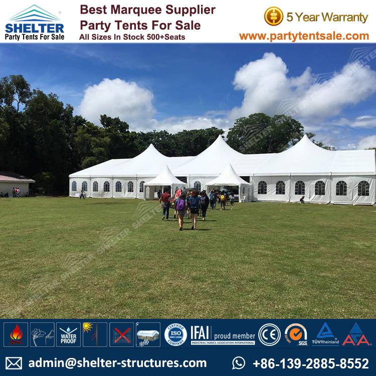High Peak Mixed Tent - Shelter Party Tent Sale - Multi Sided Tent - Party Marquee - Reception Tent - Wedding Marquee - Outdoor Marquee - Party Tent for Sale (12)