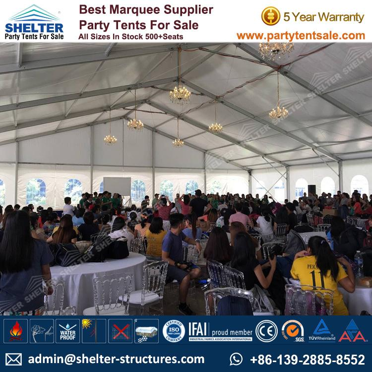 High Peak Mixed Tent - Shelter Party Tent Sale - Multi Sided Tent - Party Marquee - Reception Tent - Wedding Marquee - Outdoor Marquee - Party Tent for Sale (13)