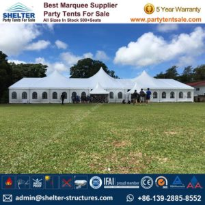 High Peak Mixed Tent - Shelter Party Tent Sale - Multi Sided Tent - Party Marquee - Reception Tent - Wedding Marquee - Outdoor Marquee - Party Tent for Sale (16)