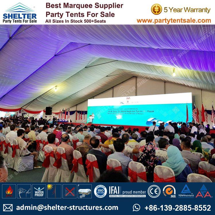 Shelter Party Tent Sale - White Event Tent - Event Marquee - Event Tent - Commercial Tent - Tent for Event - Party Tent for Sale (291)